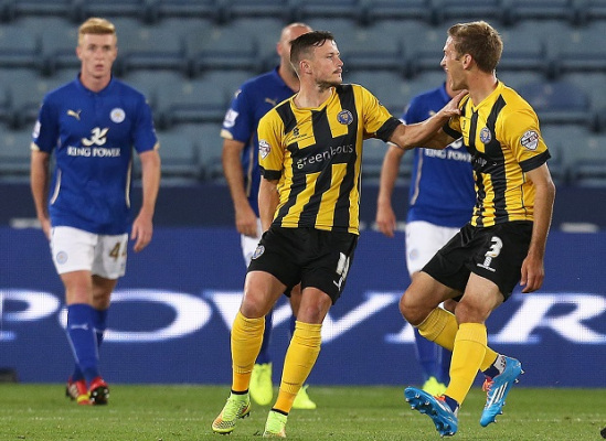Shrewsbury Striker Andy Mangan Made To Pay For Leicester Heroics!