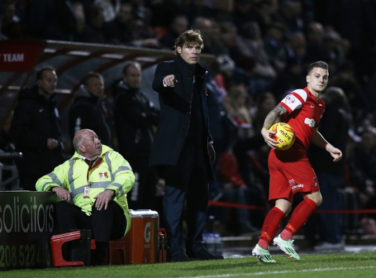 Fabio Liverani aims to live longer at Leyton Orient