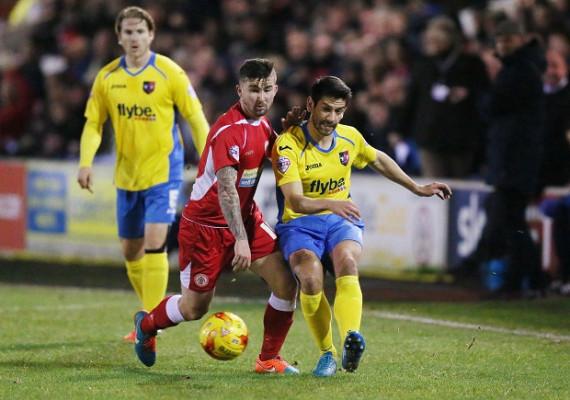 Veteran Danny Butterfield eyes promotion for Exeter