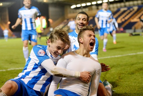 Colchester's George Moncur is playing on God's side now
