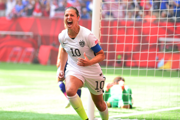 USA Women's star Carli Lloyd: 'I want to be the best player ever'