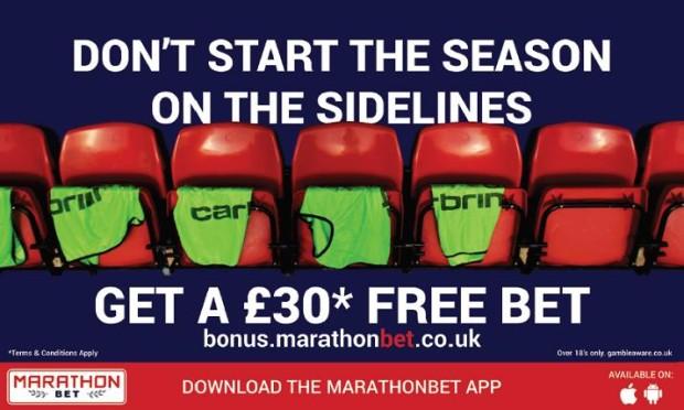 marathonbet free bet offer