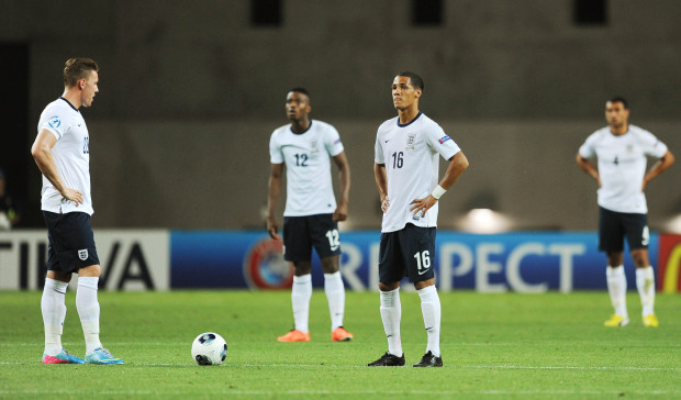 Disappointment: Tom Ince and England lost all three games in Israel in 2013 (Action Images / Alex Morton)