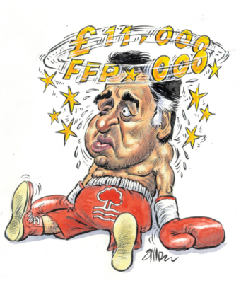 Fawaz and reds are on the ropes, writes Chris Dunlavy