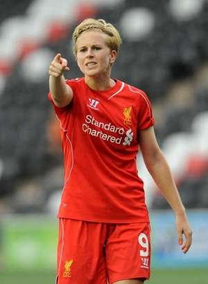 Taking a stance: Natasha Dowie is fighting back after missing out on Canada (Photo by Anna Gowthorpe/The FA via Getty Images)
