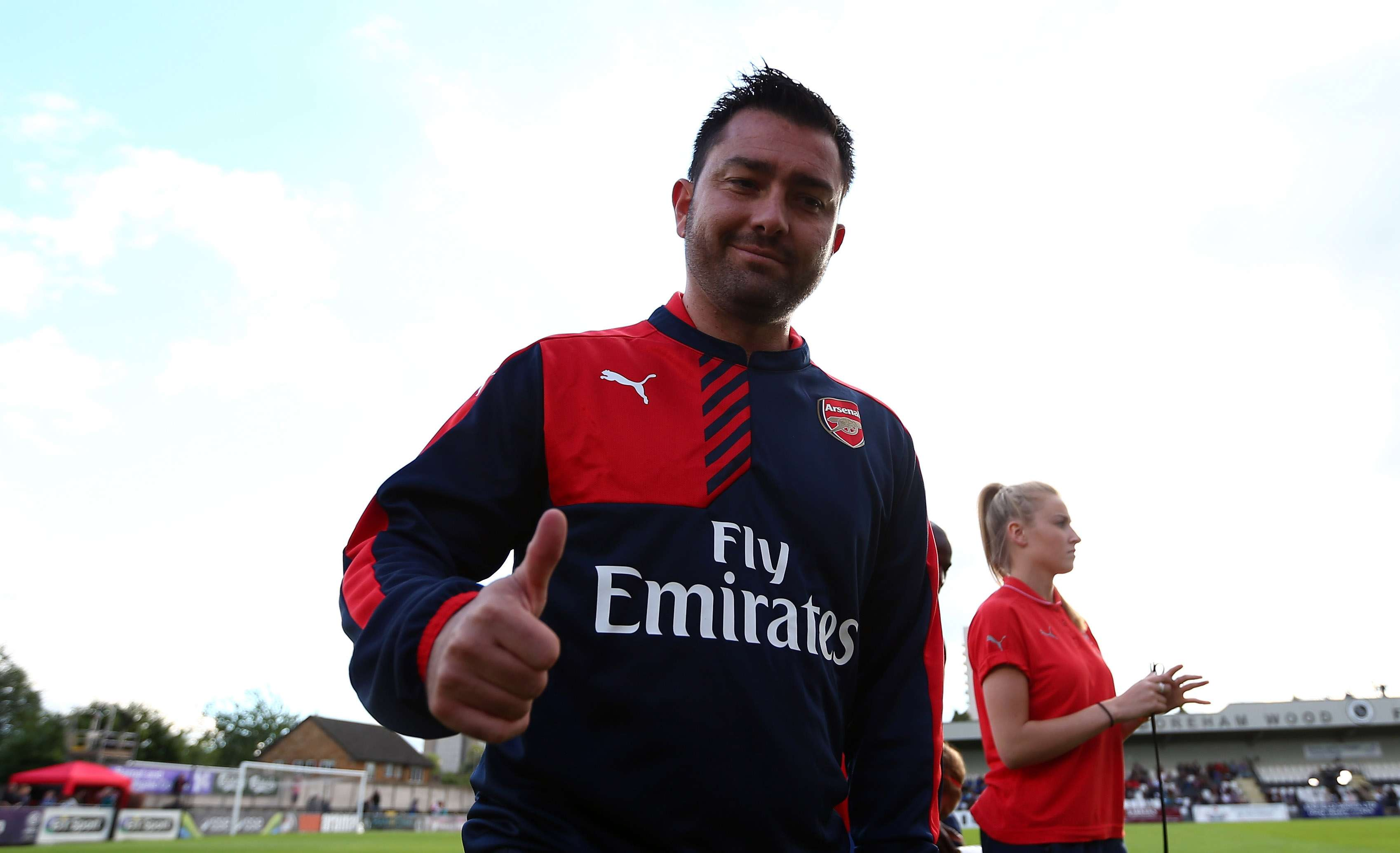 Giving youth a chance: Arsenal coach Pedro Losa (Photo by Dan Mullan - The FA/The FA via Getty Images)