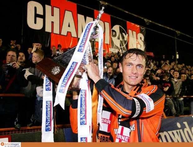 Heroic effort: Hendon won the Conference as a Barnet skipper (Action Images / Alex Morton)