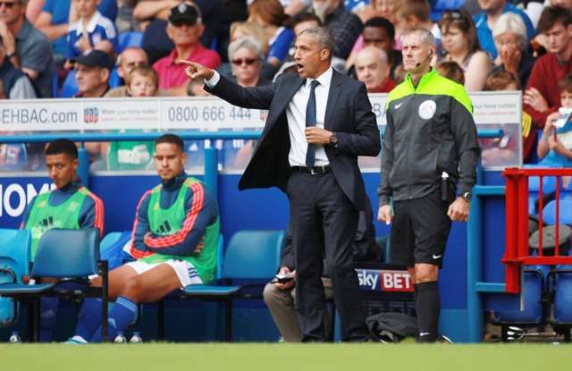 Good man: Chris Hughton gets players 'on his side' (Photo by Action Images)