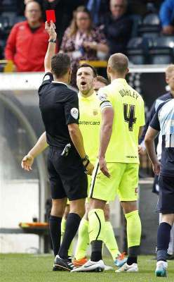 Hartlepool's Magnay banned for 6 games for spitting at a fan