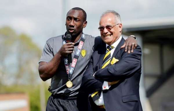 Hasselbaink and Robinson have created the perfect recipe at Burton Albion