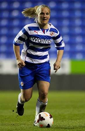 Playing days: An ACL injury in 2012 ended Chambers' playing career at Reading