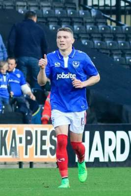 Cook's recipe key for Pompey's Caolan Lavery