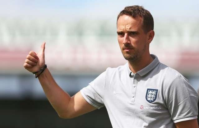 Back in the fold: Williams is pleased to be re-united with coach Mark Sampson and ready to down the Germans (Photo by The FA)