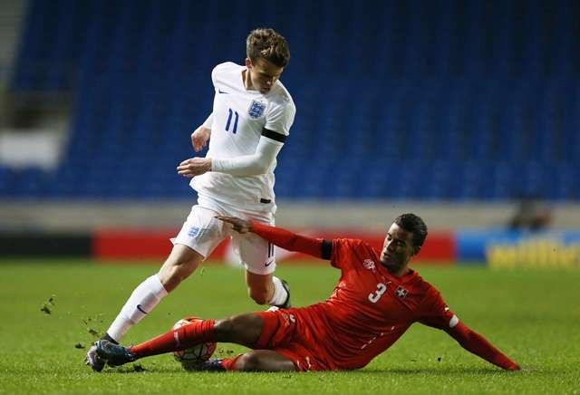Swiss role: Brighton's Solly March earned a start against Switzerland last week (Photo by Action Images / Matthew Childs)