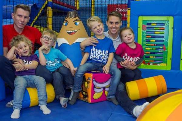 Footballers in their community: Wolves midfielder Dave Edwards opens Little Rascals