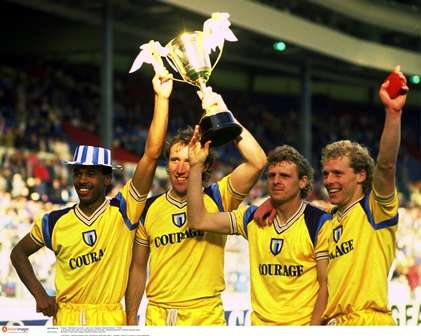 Where are they now? Reading Simod Cup winners 1988