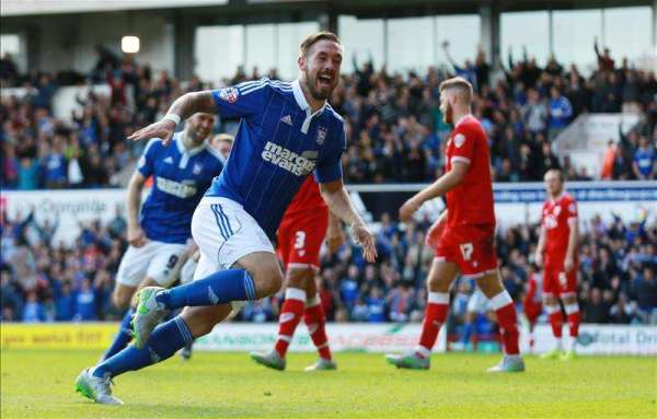 Ipswich's Luke Chambers is back on the right road