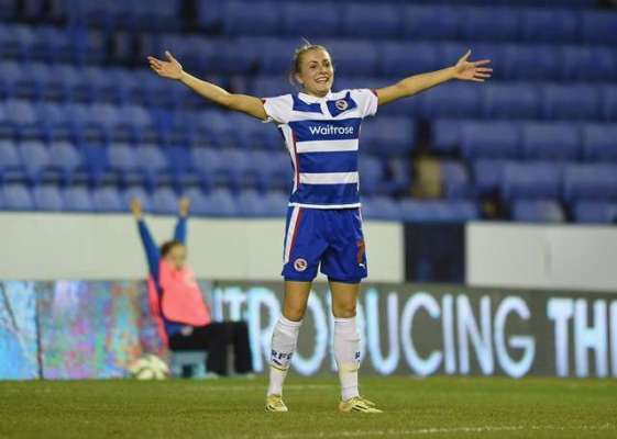 That Royal feeling delights Reading striker Emma Follis