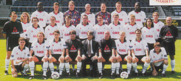 Where are they now? Fulham's Division 3 runners-up 1997