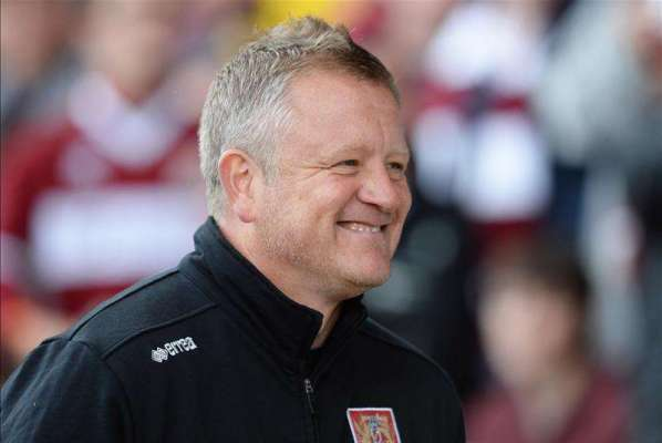 Northampton's Chris Wilder and Ricky Holmes win monthly awards