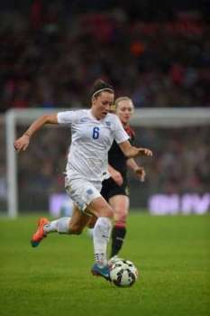 Set up to succeed: England and Manchester City right-back Lucy Bronze came through good set-up at Sunderland