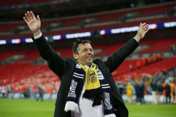 "Phil Brown thanks supporters – ""I would like to buy every one of them a pint"""