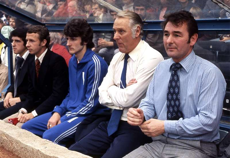 First promotion: Brian Clough and Peter Taylor steered Forest to the top flight in 1977 whereupon silverware would be won