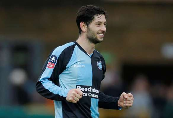 Football Firsts: Wycombe Wanderers defender Joe Jacobson
