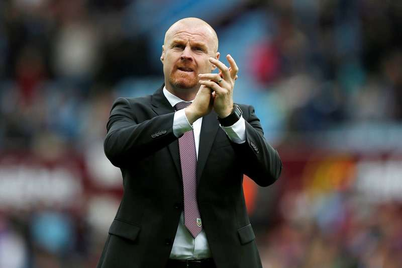 """Talk talk: Sean Dyche needed just an hour to net his target (photo by Action Images / Peter Cziborra Livepic EDITORIAL USE ONLY. No use with unauthorized audio, video, data, fixture lists, club/league logos or """"live"""" services. Online in-match use limited to 45 images, no video emulation. No use in betting, games or single club/league/player publications.  Please contact your account representative for further details."""