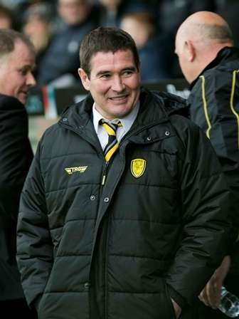 Calm down: Nigel Clough's determination to avoid change is benefiting Burton