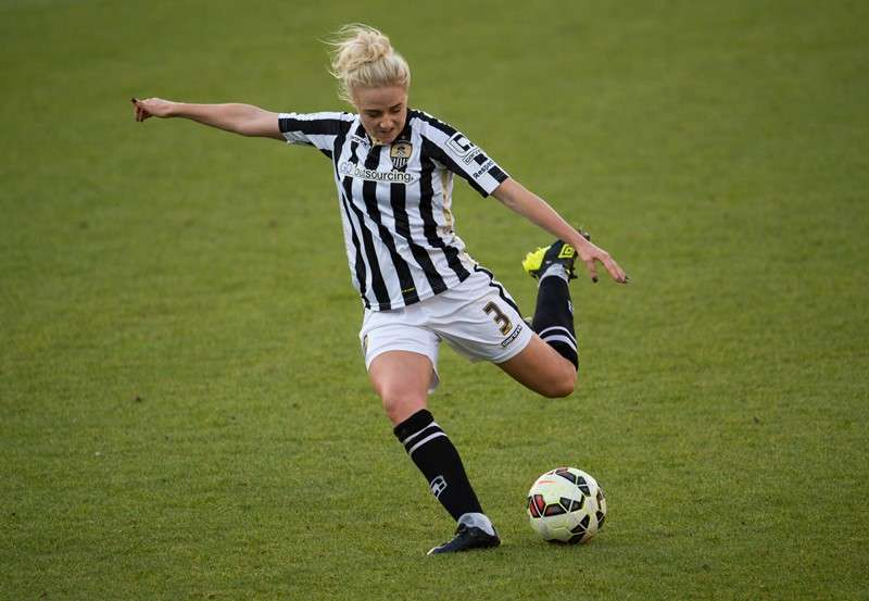Welcome: Liverpool have signed Siobhan Chamberlain and, above, Alex Greenwood from Notts County