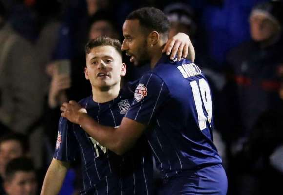 Football Firsts: Southend United's on loan striker Tyrone Barnett