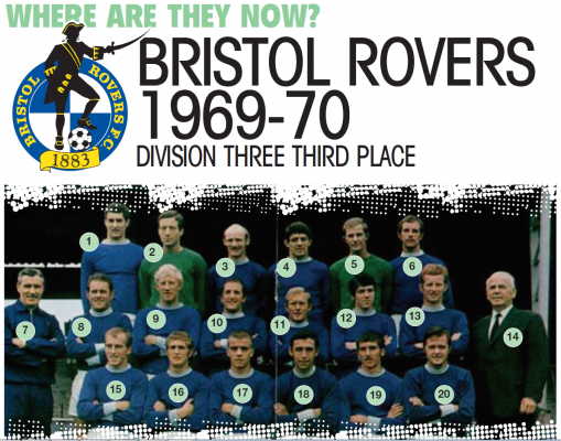 Where Are They Now? The Bristol Rovers side of 1969/70