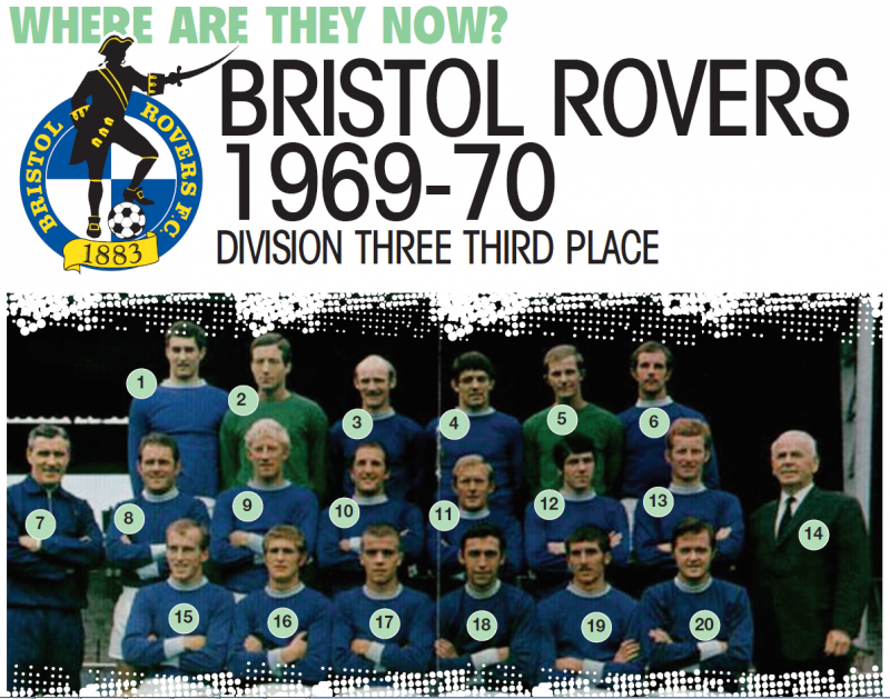 where are they now Bristol Rovers 1969