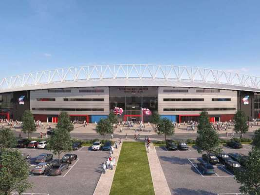 Scunthorpe given the go ahead for new stadium