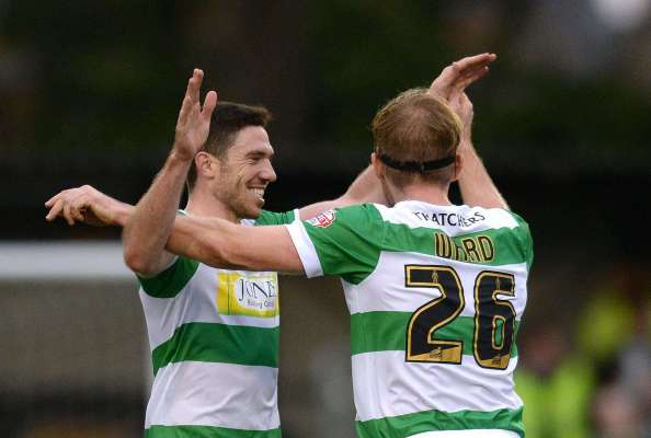 Football Firsts: Yeovil Town midfielder Ben Tozer