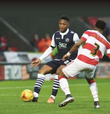 Millwall's Romeo plays to football's tune