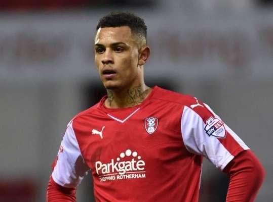 Team-mates: Rotherham United forward Jonson Clarke-Harris