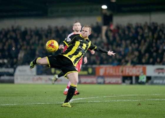 Football Firsts: Burton Albion striker Stuart Beavon