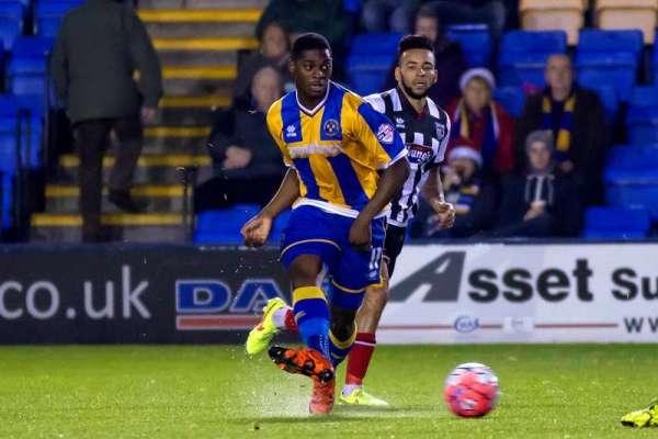 Sulley returns to Shrewsbury on loan