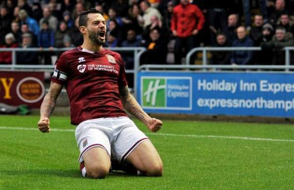 Going up is the perfect ending, says Cobblers captain
