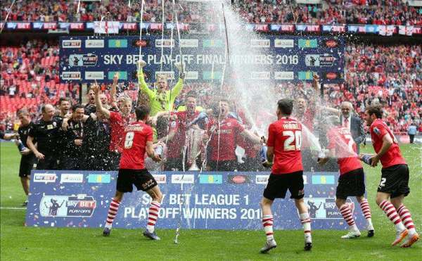 Barnsley secure Championship return with Wembley victory