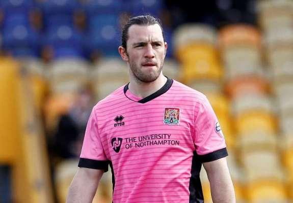 Team-mates: Northampton Town midfielder John-Joe O'Toole