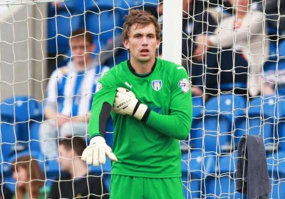 Football Firsts: Colchester United goalkeeper Sam Walker