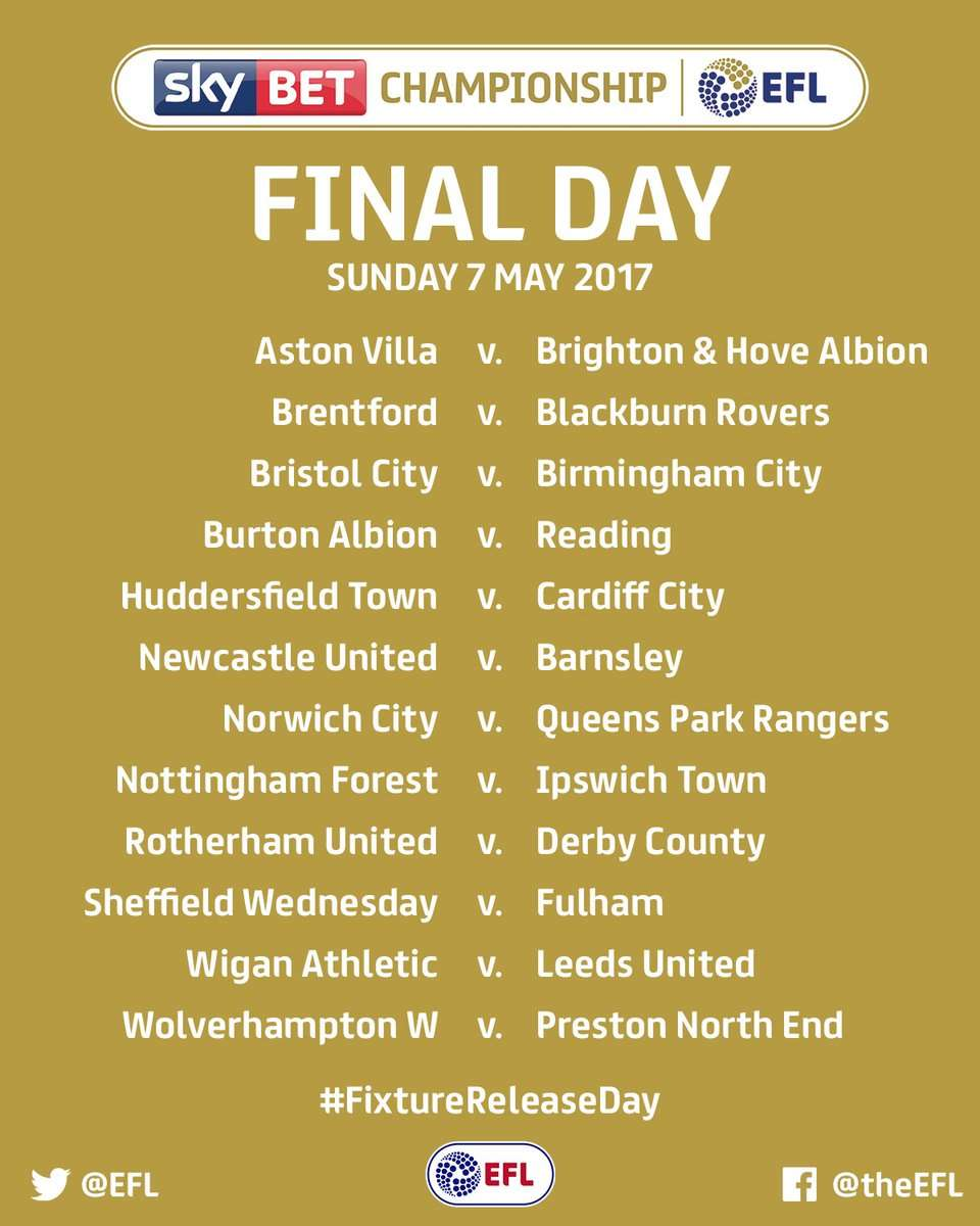 Final Day fixtures: Promotion and relegation could hinge on these matches (Photo by EFL)