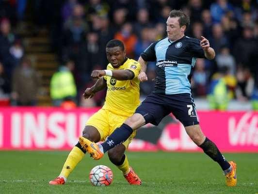 Team-mates: Wycombe Wanderers midfielder Garry Thompson