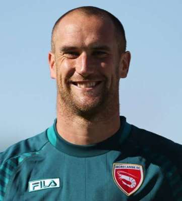 Football Firsts: Morecambe stopper Barry Roche