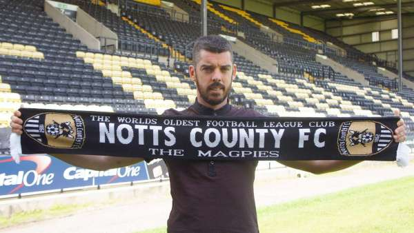 Duffy signs for Notts one month after Eastleigh move