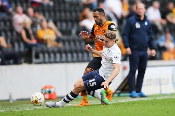 Preston defender Woods to miss nine months