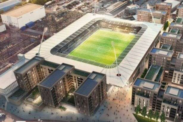 Plough Lane: AFC Wimbledon aim to build an 11,000 capacity stadium that can be viable to be expanded to 20,000 should the club reach the Championship (Photo by AFC Wimbledon / Galliard Homes)